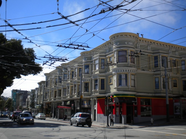 Barrio Haight Ashbury. San Francisco