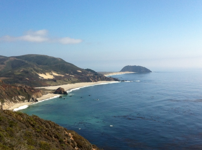 Vista de Big Sur. California