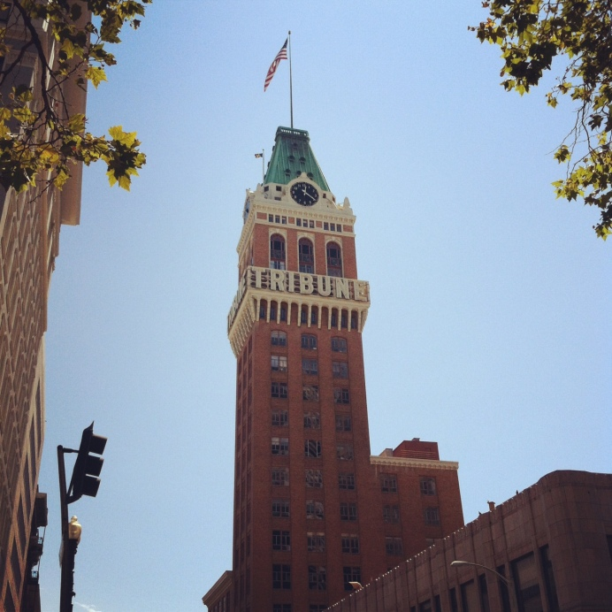 Torre Tribune en Oakland. San Francisco