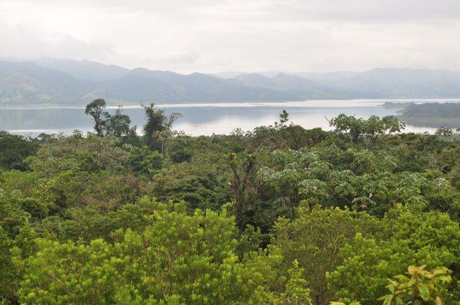 Lago del Volcán Arenal. Costa Rica