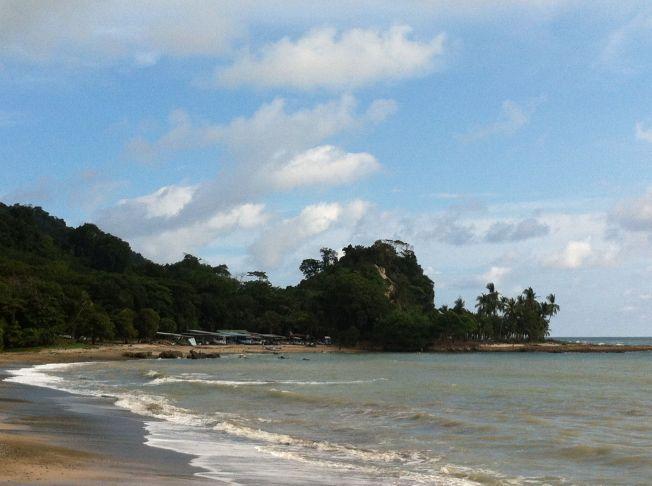 Playas de MalPais en Península de Nicoya. Costa Rica