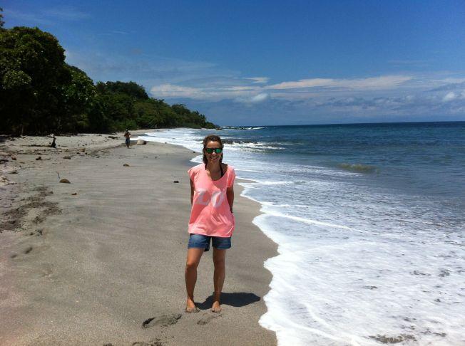 Playa de Montezuma en Península de Nicoya. Costa Rica