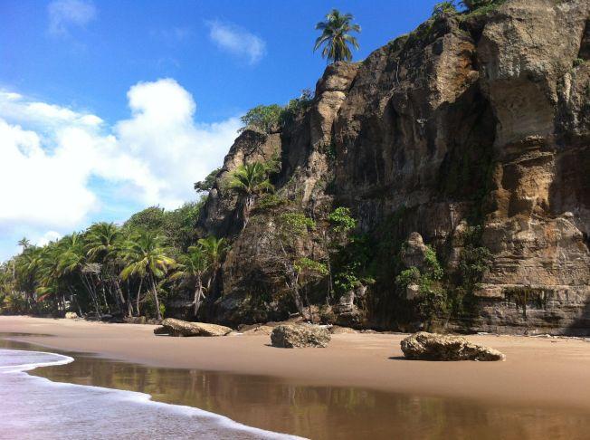 Playa Quizales en la Península de Nicoya. Costa Rica