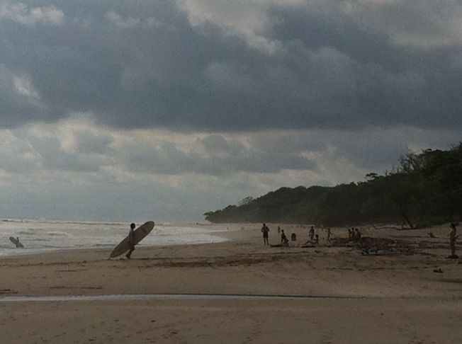Playas de Santa Teresa en Península de Nicoya. Costa Rica