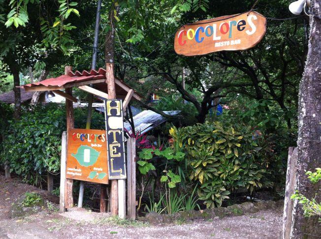 Restaurante Colores en Montezuma. Península de Nicoya. Costa Rica
