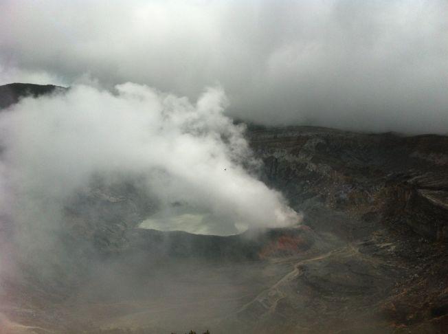 Volcán Poás. Costa Rica
