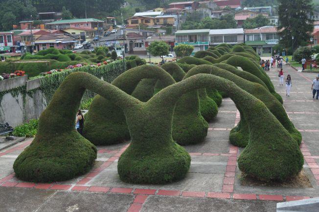 Pueblo de Zarcedo en el Valle Central. Costa Rica