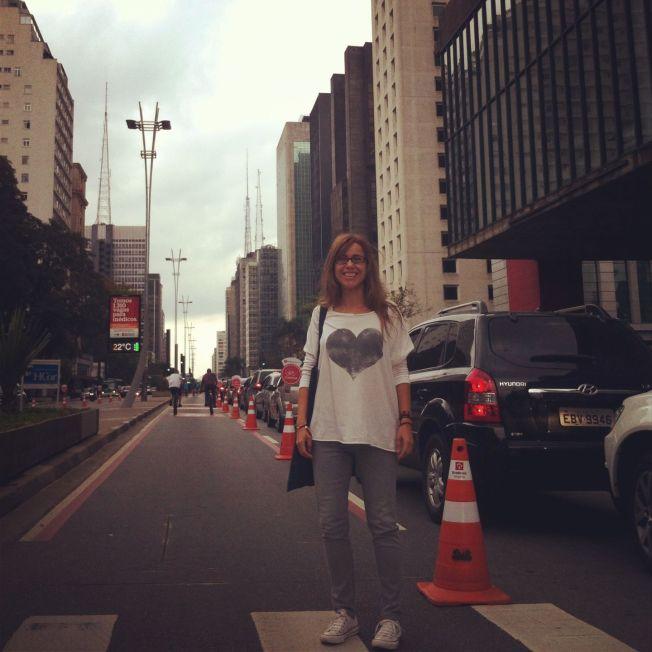 En la Avenida Paulista. São Paulo