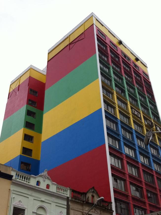 Edificios próximos al Mercado Municipal de São Paulo