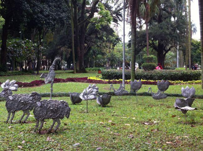 Parque da Luz en São Paulo