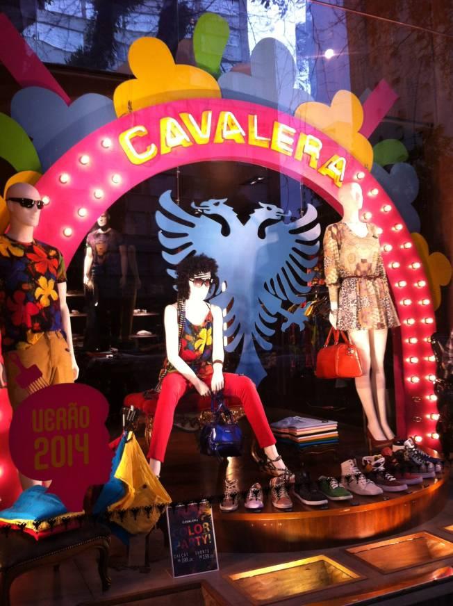 Tienda de ropa unisex Cavalera en Oscar Freire. São Paulo