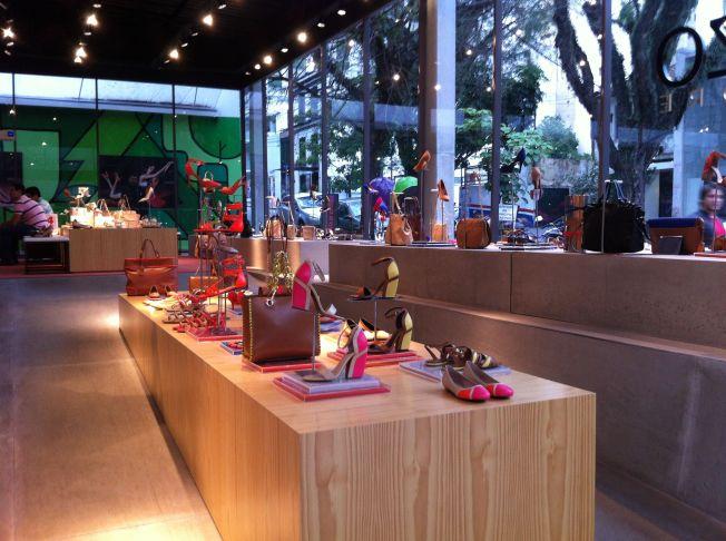 Tienda de calzado Arezzo en Sao Paulo